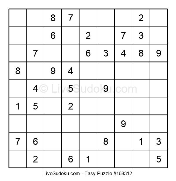 Beginners Puzzle #168312