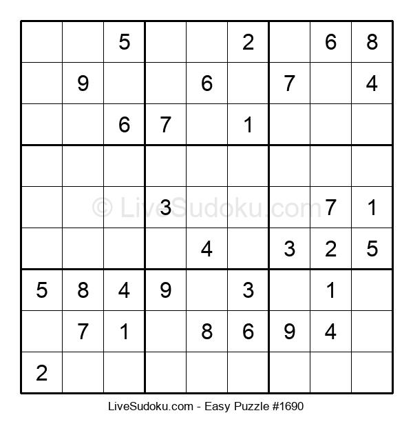 Beginners Puzzle #1690