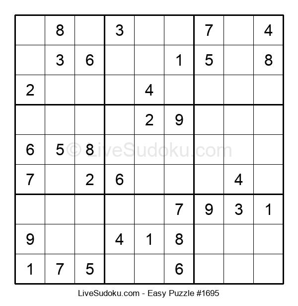 Beginners Puzzle #1695