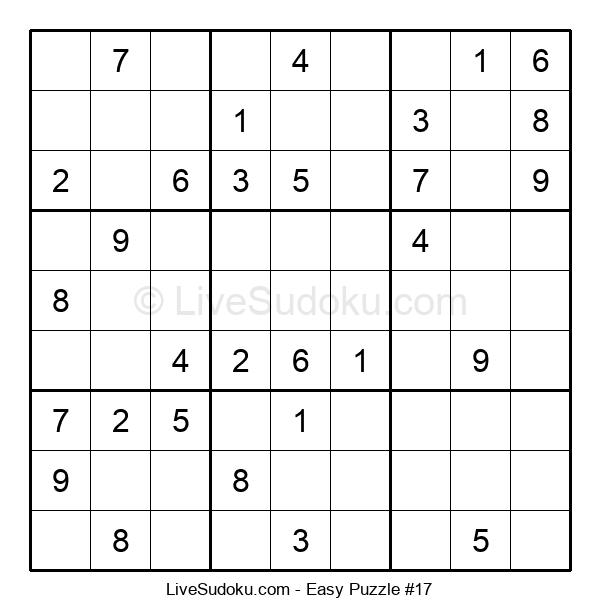 Beginners Puzzle #17