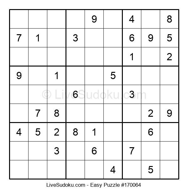 Beginners Puzzle #170064