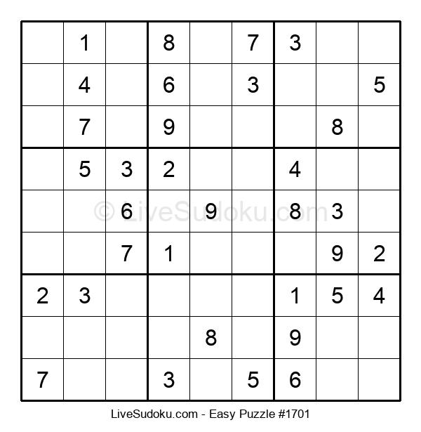 Beginners Puzzle #1701