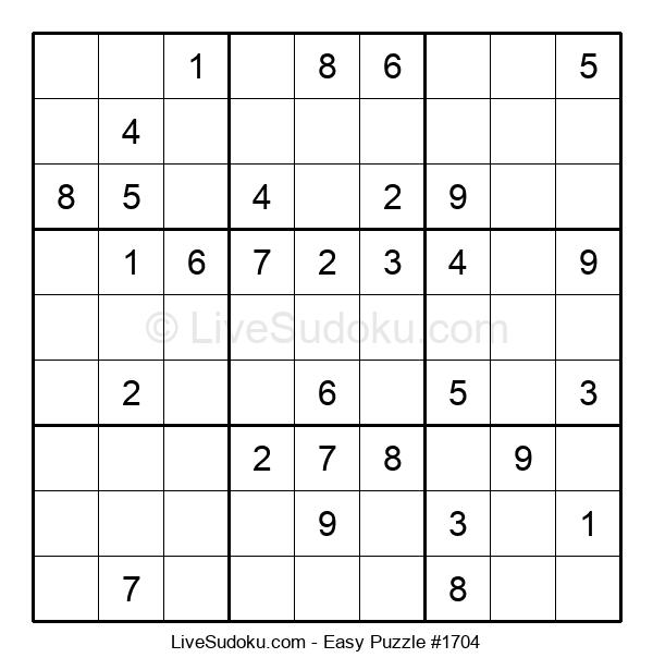 Beginners Puzzle #1704