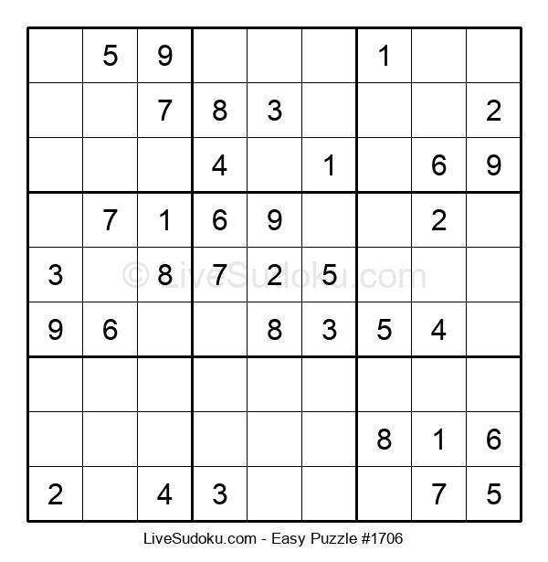 Beginners Puzzle #1706