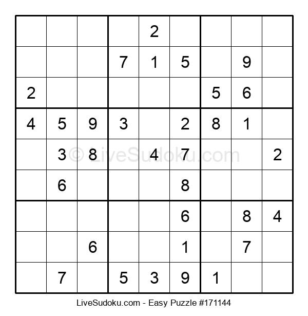 Beginners Puzzle #171144