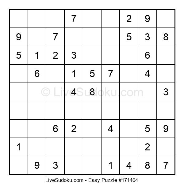Beginners Puzzle #171404