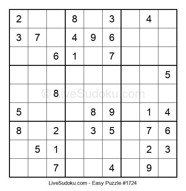 Beginners Puzzle #1724