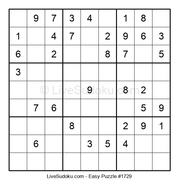 Beginners Puzzle #1729