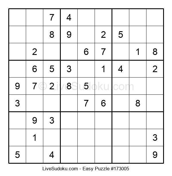 Beginners Puzzle #173005