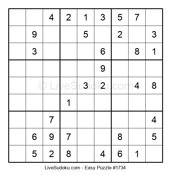 Beginners Puzzle #1734