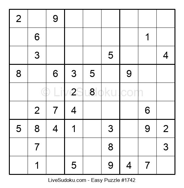 Beginners Puzzle #1742
