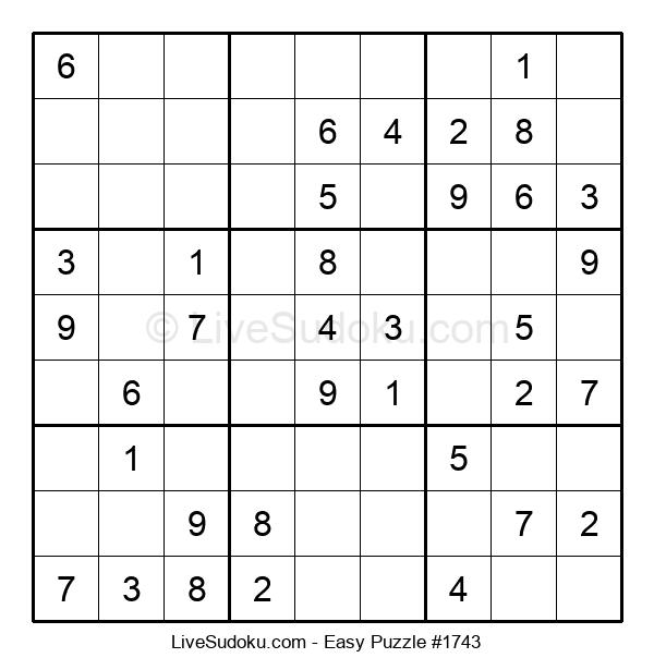 Beginners Puzzle #1743