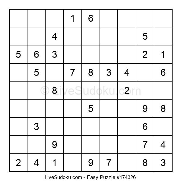 Beginners Puzzle #174326