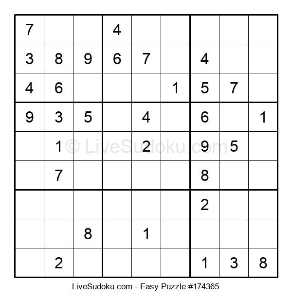 Beginners Puzzle #174365