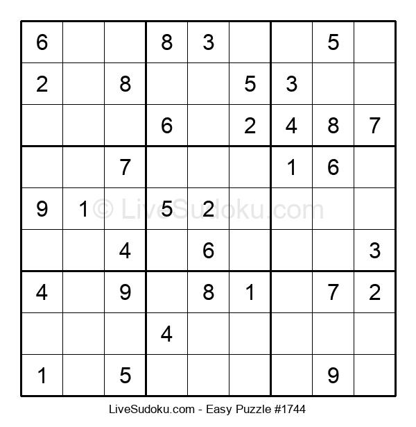 Beginners Puzzle #1744