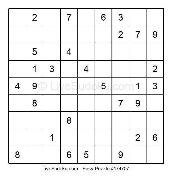 Beginners Puzzle #174707