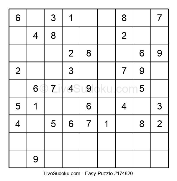Beginners Puzzle #174820