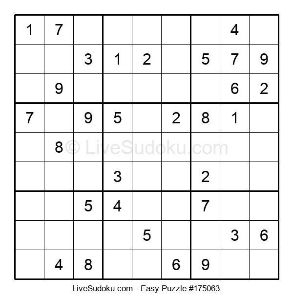 Beginners Puzzle #175063
