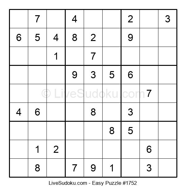 Beginners Puzzle #1752