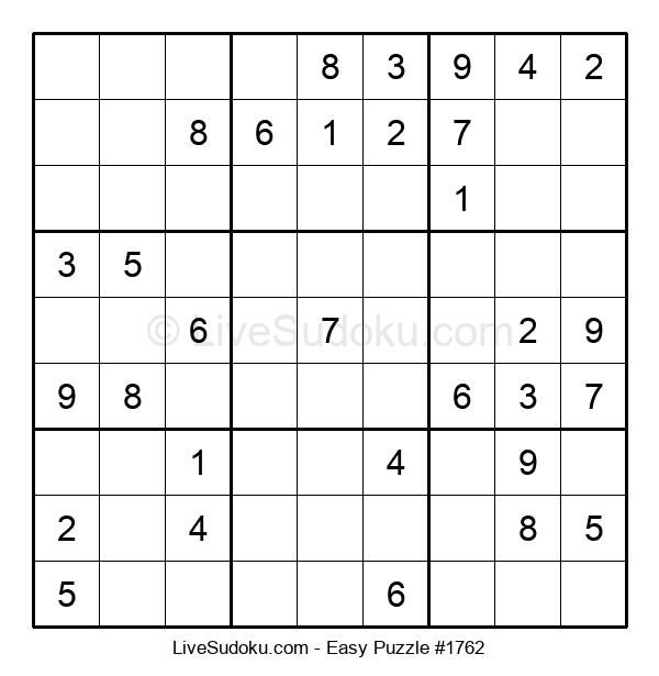 Beginners Puzzle #1762