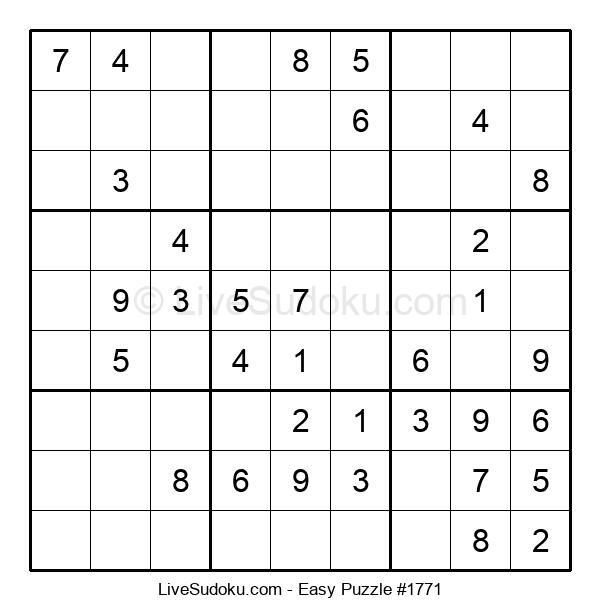 Beginners Puzzle #1771