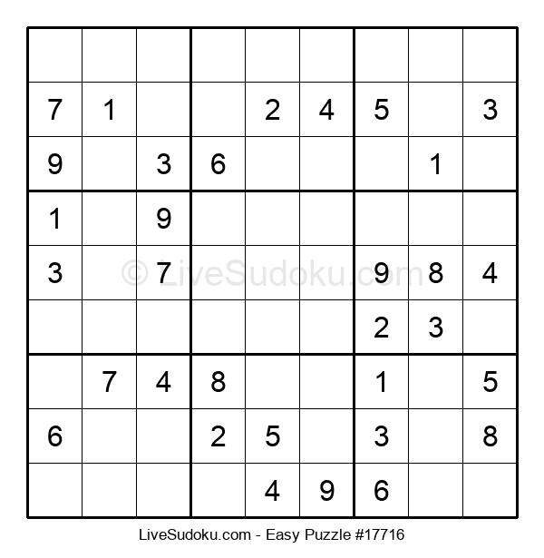 Beginners Puzzle #17716