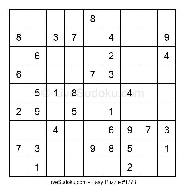 Beginners Puzzle #1773