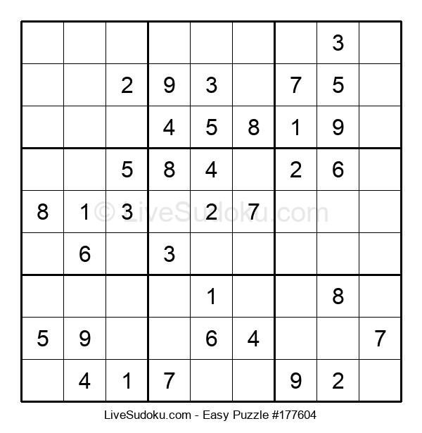 Beginners Puzzle #177604