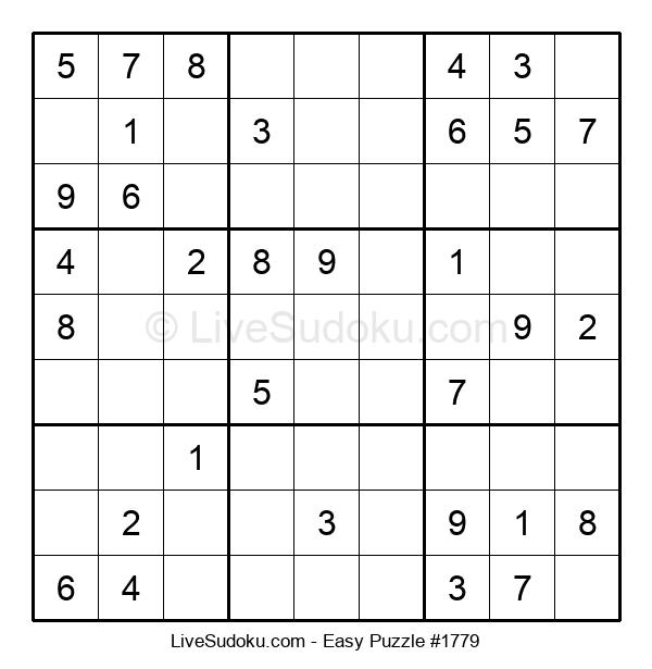 Beginners Puzzle #1779