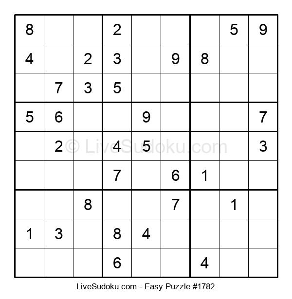 Beginners Puzzle #1782