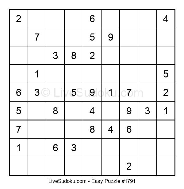 Beginners Puzzle #1791