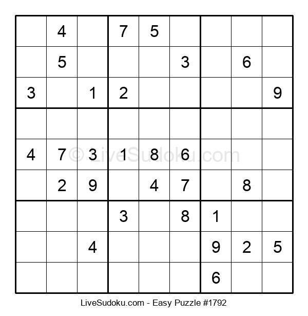 Beginners Puzzle #1792