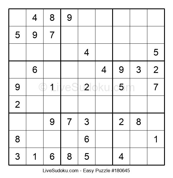 Beginners Puzzle #180645