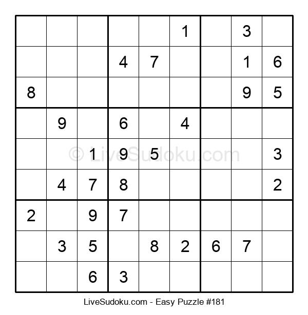 Beginners Puzzle #181
