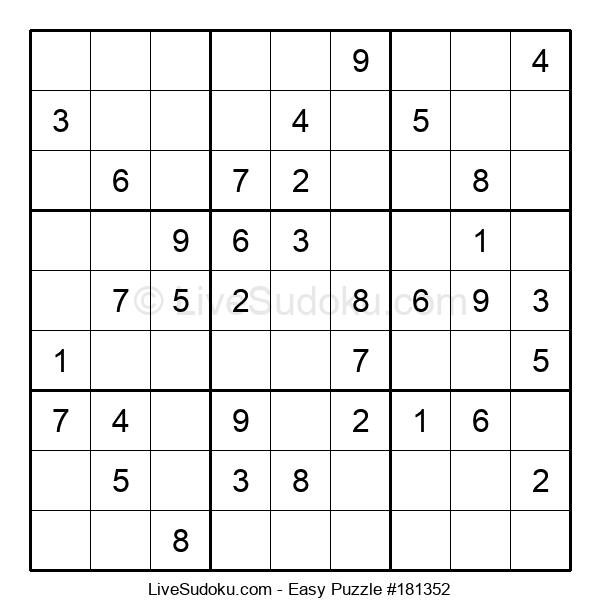 Beginners Puzzle #181352