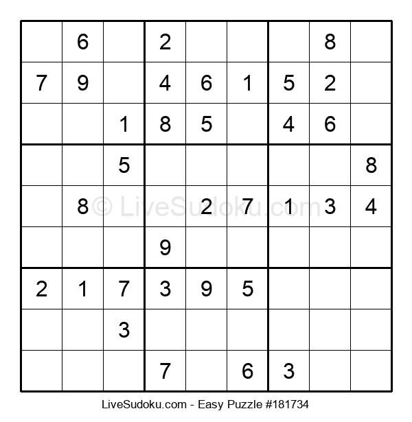 Beginners Puzzle #181734