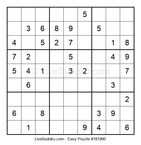 Beginners Puzzle #181990