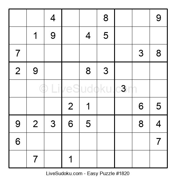 Beginners Puzzle #1820