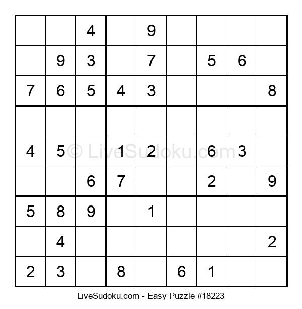 Beginners Puzzle #18223