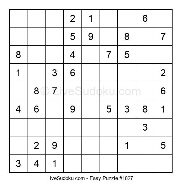 Beginners Puzzle #1827