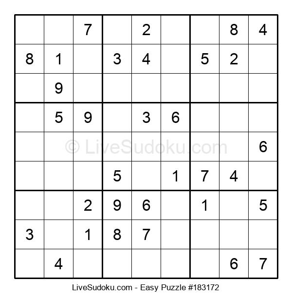 Beginners Puzzle #183172