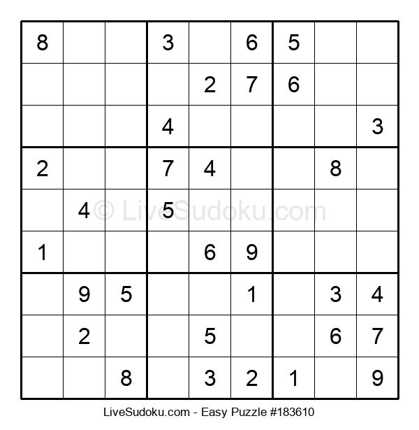 Beginners Puzzle #183610