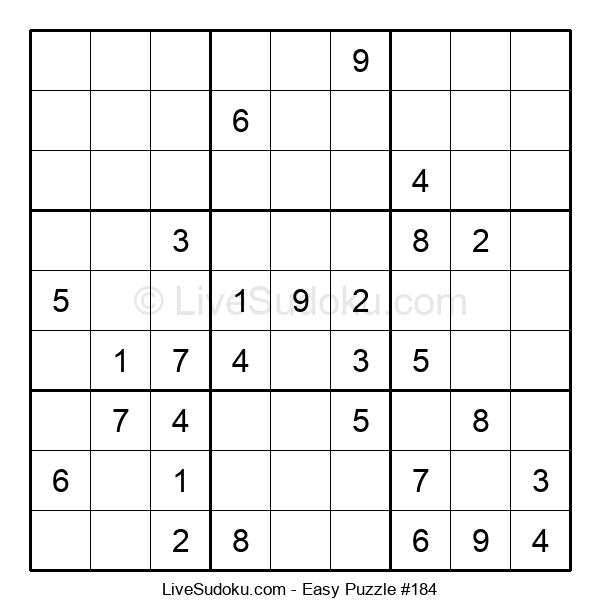 Beginners Puzzle #184
