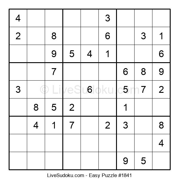 Beginners Puzzle #1841