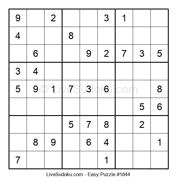 Beginners Puzzle #1844
