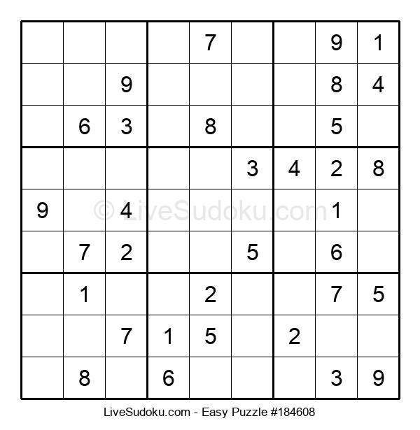 Beginners Puzzle #184608