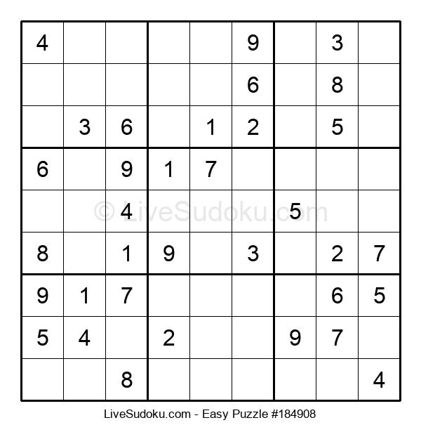 Beginners Puzzle #184908