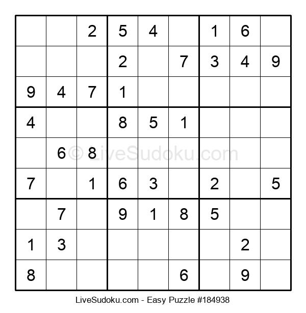 Beginners Puzzle #184938