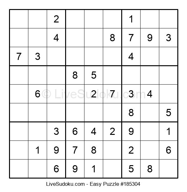 Beginners Puzzle #185304