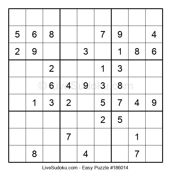 Beginners Puzzle #186014